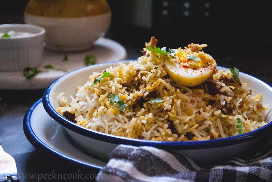 Hyderabadi Mutton Dum Pulao