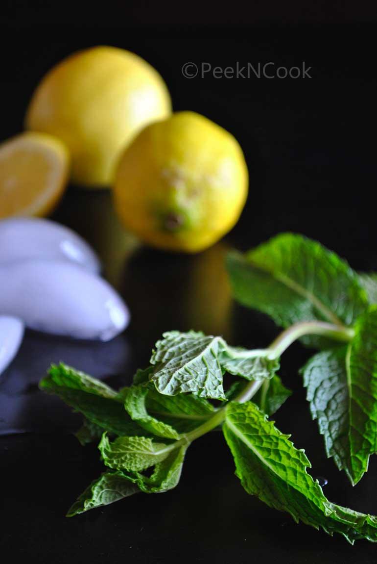 Jal Jeera Or Indian Spiced Lemonade