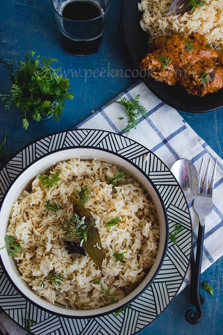 Jeera Rice Or Cumin Flavored Rice