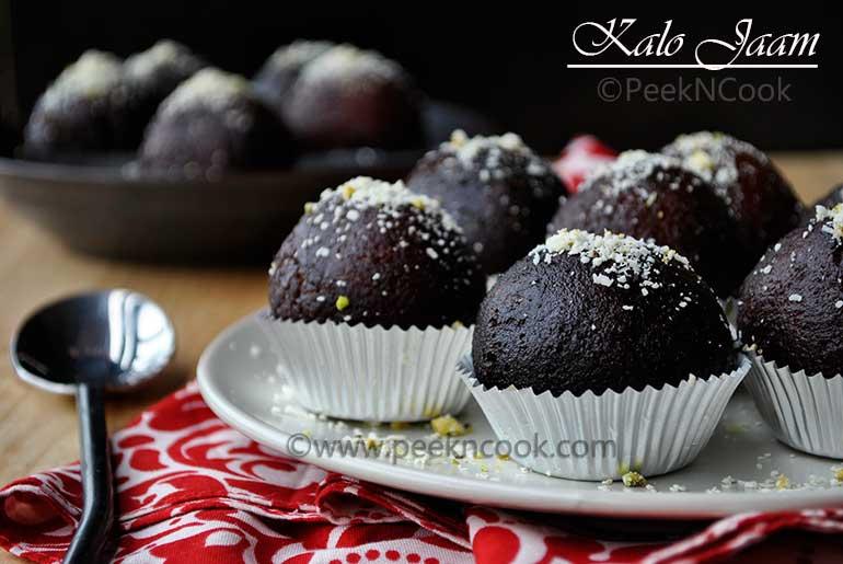 Kalo jaam Or Kala Jamun Recipe: