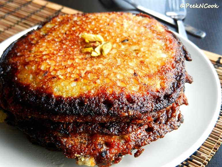 Bengali Style Kheer Malpua Or Malpoa Recipe