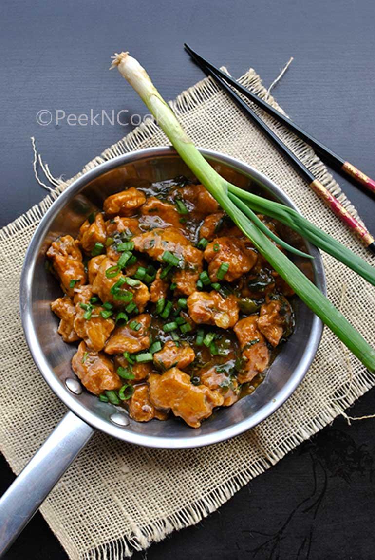 Indo-Chinese Style Chicken Manchurian Gravy