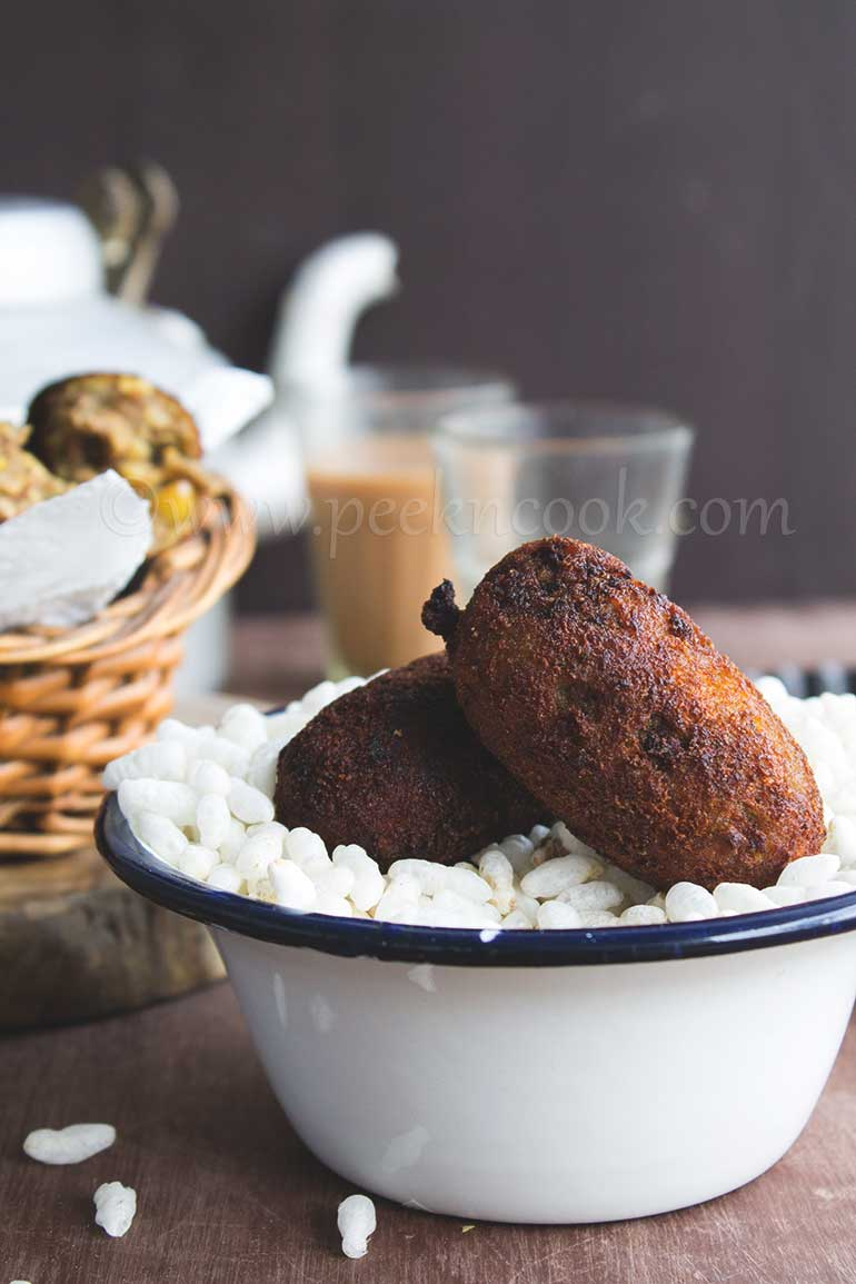 Mochar Chop Or Banana Flower Croquette