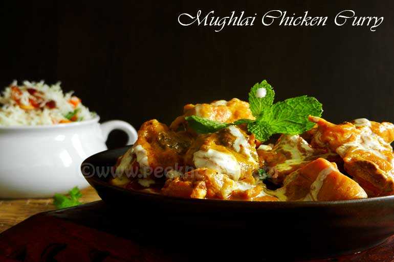 Mughlai Chicken Curry
