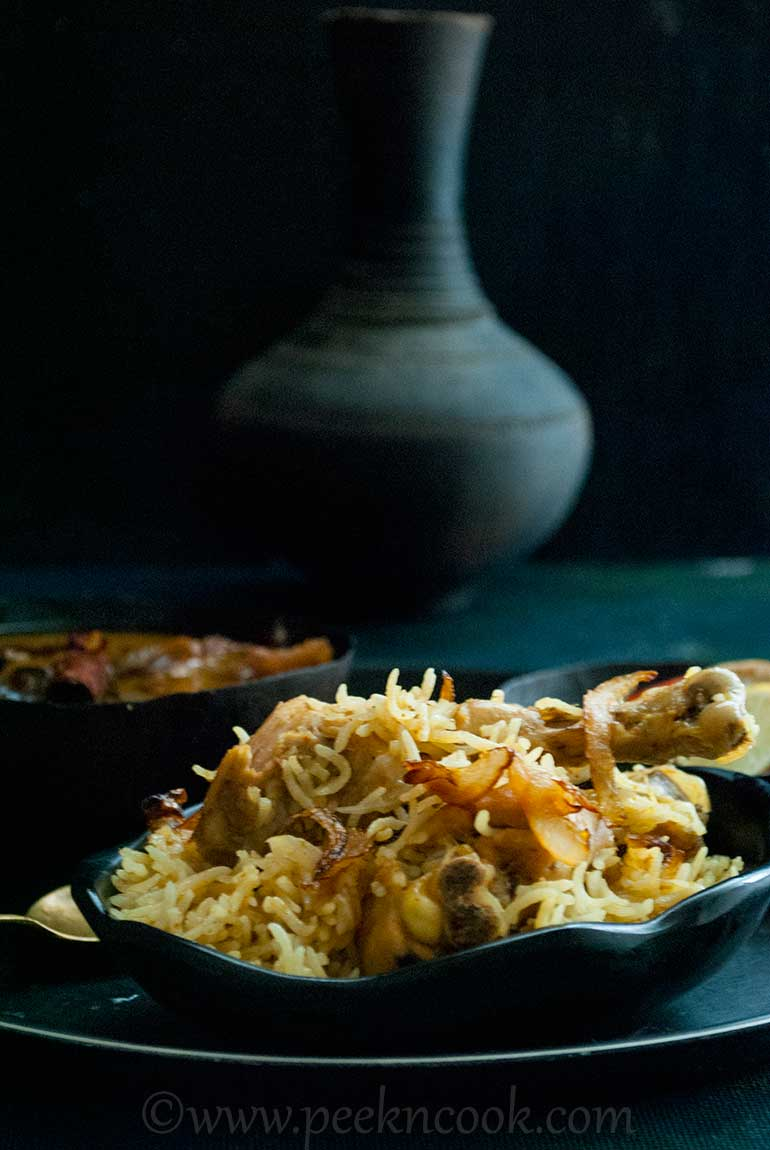 Murgh Pulao Or Bengali Style Chicken Pulao