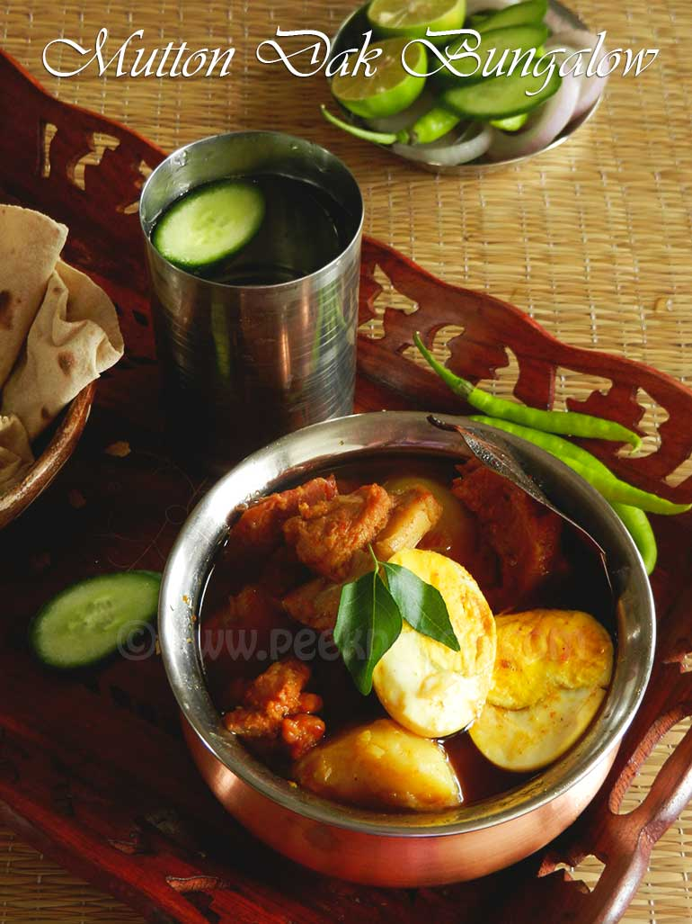 Mutton Or Goat Dak Bungalow Or Dakbangla Curry