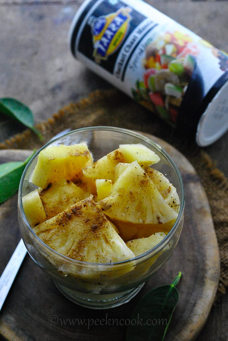 Pineapple Blast Or Khatta Mitha Anaras