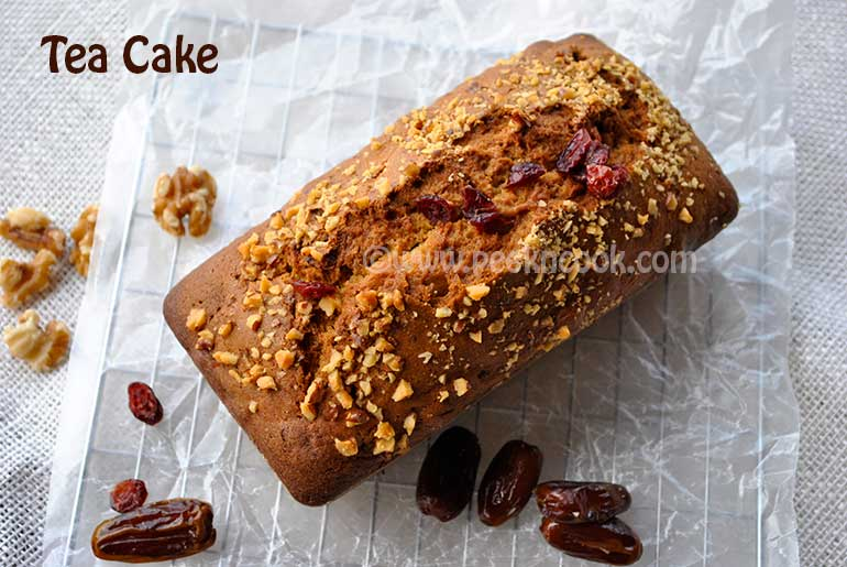 Indian Style Tea Time Cake