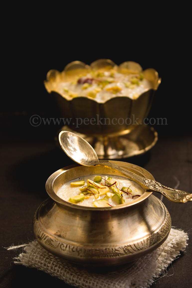 Indian Vermicelli Kheer or Seviyan/Simui er payesh