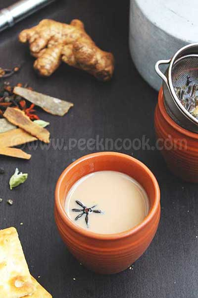 Indian Spiced Tea